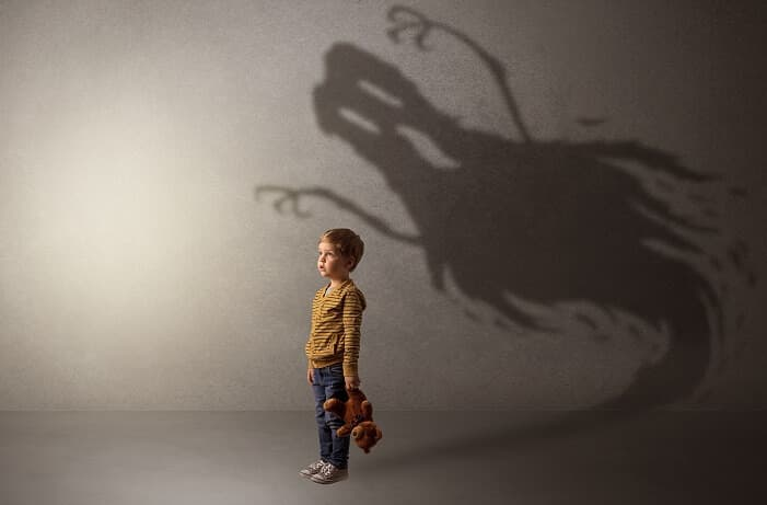 恐怖を抱える子ども